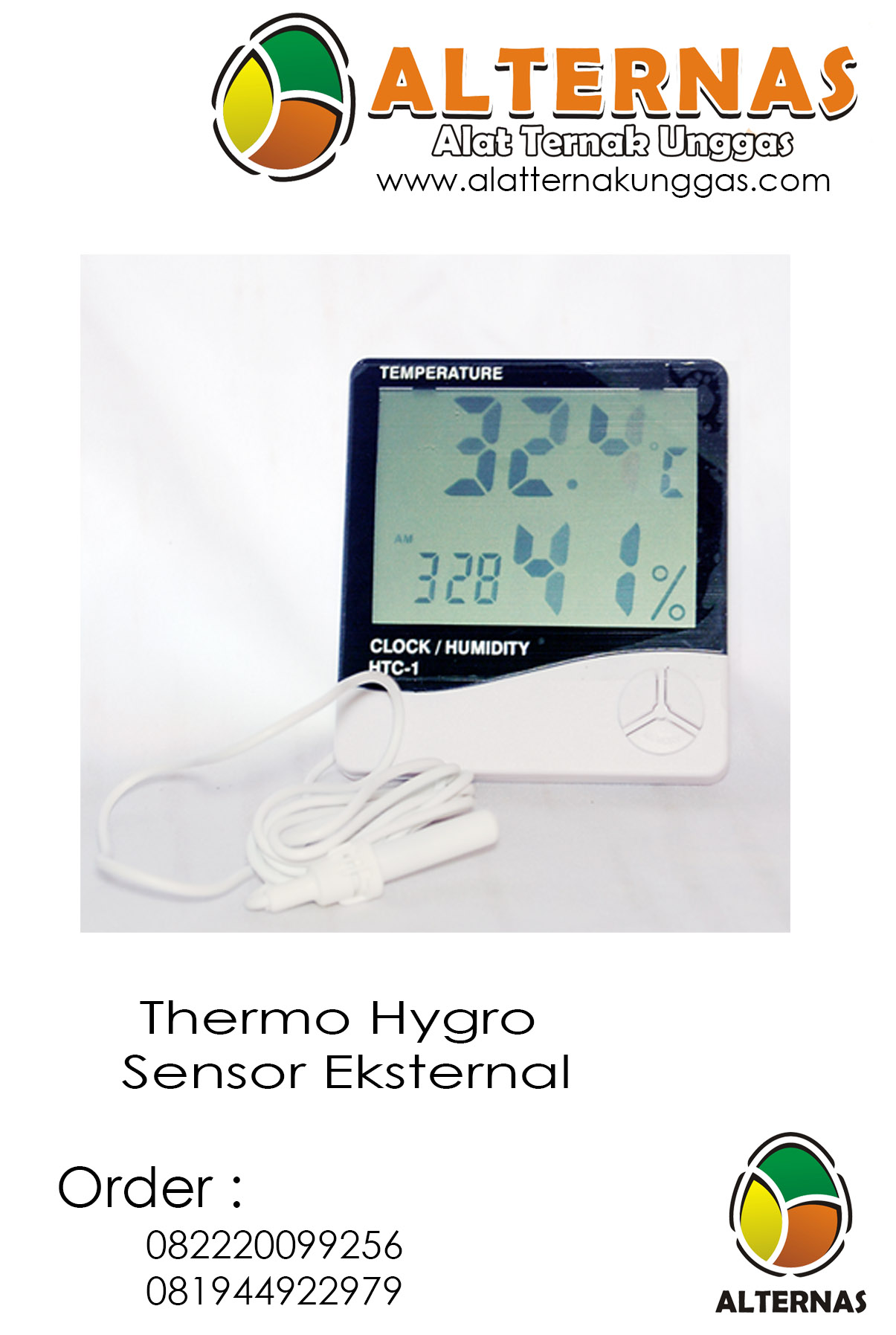 Thermohigro Digital